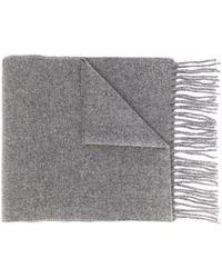 Vivienne Westwood ロゴ スカーフ - グレー