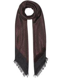 Burberry - モノグラム スカーフ - Lyst