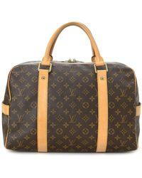 Louis Vuitton Pre-owned Carryall Reisetasche - Braun