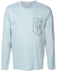 Gieves & Hawkes - ロゴプリント ロングtシャツ - Lyst