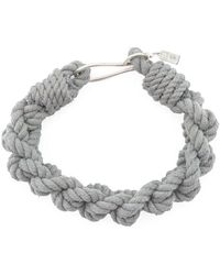 1-100 - Thin Hook Braid Bracelet - Lyst