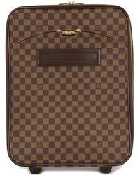 Louis Vuitton 'Pegase' Reisetasche - Braun