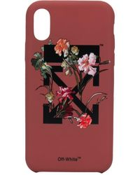 Off-White c/o Virgil Abloh Iphone X/xs Phone Case - Red