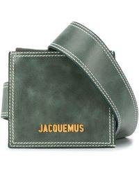 Jacquemus Поясная Сумка La Ceinture Porte - Зеленый
