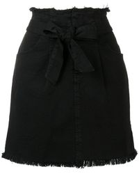 FEDERICA TOSI - Belted Jean Skirt - Lyst