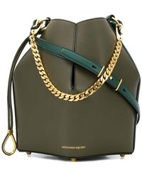 Alexander McQueen - Chunky Chain Shoulder Bag - Lyst