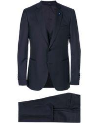 Lardini Dreiteiliger Anzug - Blau