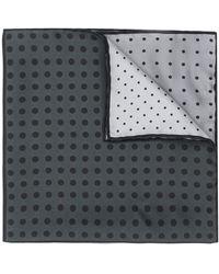 Lanvin Square Print Scarf - Gray