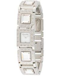 Dior Наручные Часы La Parisienne Pre-owned 25 Мм - Металлик
