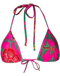 LaDoubleJ - Top de bikini de triángulo - Lyst