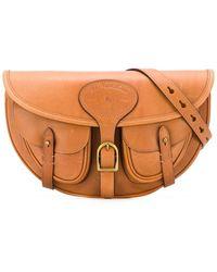 Polo Ralph Lauren Saddle Belt Bag - Brown