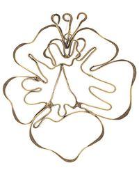 Rosie Assoulin - Floral Shape Earrings - Lyst