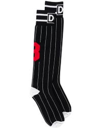Dolce & Gabbana - Striped Socks - Lyst