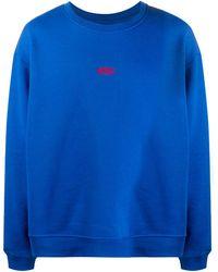 424 ロゴ スウェットシャツ - ブルー