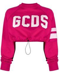 Gcds ロゴアップリケ Tシャツ - ピンク
