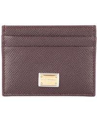 Dolce & Gabbana Dauphine Cardholder - ブラウン