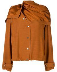 3.1 Phillip Lim - リムーバブル スカーフジャケット - Lyst
