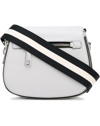 Marc Jacobs The Small Nomad Gotham Crossbody Bag - Grey