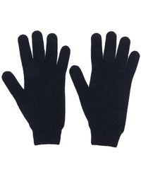 Fabiana Filippi - Ribbed Knit Detail Gloves - Lyst