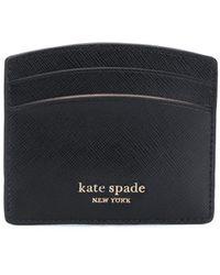 Kate Spade Spencer カードケース - ブラック