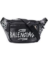 Balenciaga エクスプローラー ベルトバッグ - ブラック