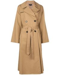 Nili Lotan - Topher Trench Coat - Lyst