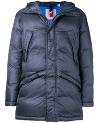 Rossignol - Hooded Padded Coat - Lyst