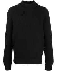 Haider Ackermann チャンキーニット セーター - ブラック