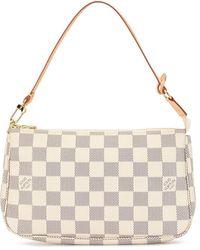 Louis Vuitton Сумка-тоут Damier Azur Pochette Accessoires 2007-го Года - Многоцветный