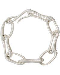 Sophie Buhai Sterling Silver Roman Chain Bracelet - Metallic