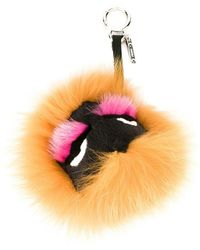 ef58e4a662 Fendi Bagood Bag Bug Bag Charm in Pink - Lyst