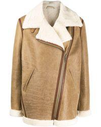Isabel Marant Куртка Оверсайз - Естественный