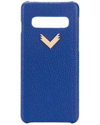 Manokhi Samsung S10-Hülle - Blau