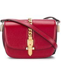 Gucci Мини-сумка На Плечо Sylvie 1969 - Красный