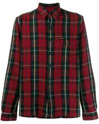 Polo Ralph Lauren Camisa a cuadros de manga larga - Rojo