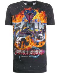 Philipp Plein - Ss Psychosocial Tシャツ - Lyst
