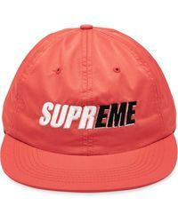 Supreme 2-tone 6-panel Cap - Red