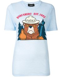 DSquared²   Fucky T-shirt   Lyst