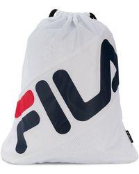 Fila - Front Logo Backpack - Lyst