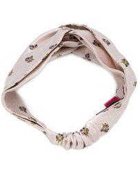 Valentino - Floral Headband - Lyst