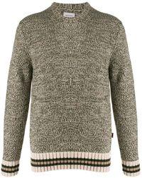 Woolrich Stripe Detailed Knitted Jumper - Green