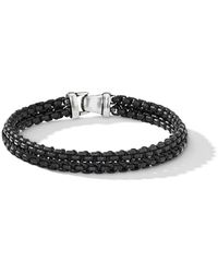 David Yurman Geweven Armband - Zwart