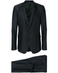 Dolce & Gabbana Костюм С Однобортным Пиджаком - Черный