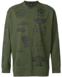 KTZ - Multi-stamp Sweatshirt - Lyst