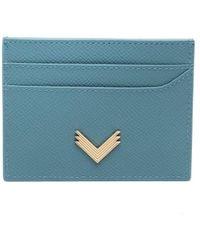 Manokhi - X Velante porte-carte à plaque logo - Lyst