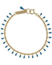 Isabel Marant Resin-tip Bracelet - Metallic