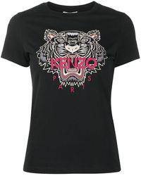 KENZO タイガー Tシャツ - ブラック