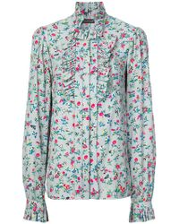 Jill Stuart - Floral Print Shirt - Lyst