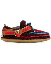 Carven - Embroidered Slip-on Shoes - Lyst