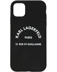 Karl Lagerfeld ロゴ Iphone 11 ケース - ブラック